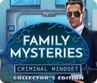 Mäng Family Mysteries: Criminal Mindset Collector's Edition