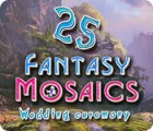 Mäng Fantasy Mosaics 25: Wedding Ceremony
