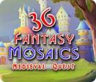 Mäng Fantasy Mosaics 36: Medieval Quest