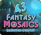 Mäng Fantasy Mosaics 43: Haunted Forest