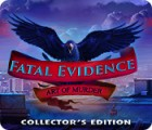 Mäng Fatal Evidence: Art of Murder Collector's Edition