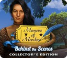 Mäng Memoirs of Murder: Behind the Scenes Collector's Edition