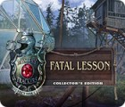 Mäng Mystery Trackers: Fatal Lesson Collector's Edition