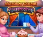 Mäng Restaurant Solitaire: Pleasant Dinner