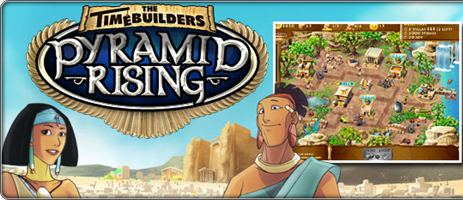 The Timebuilders: Pyramid Rising eksklusiivmäng