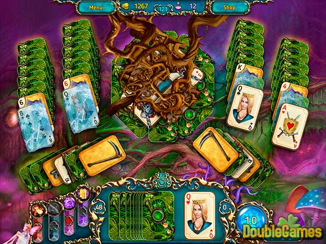 Free Download Dreamland Solitaire: Dark Prophecy Collector's Edition Screenshot 3