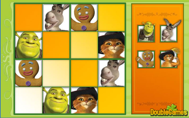 Free Download Shrek 4 Sudoku Screenshot 1