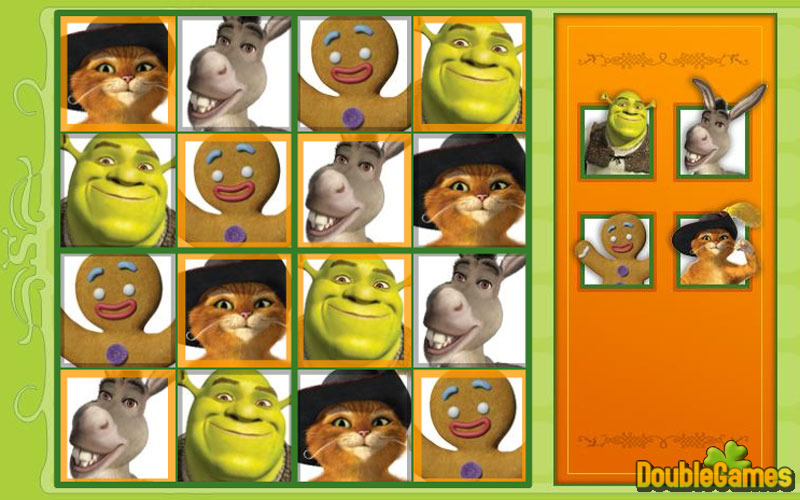 Free Download Shrek 4 Sudoku Screenshot 3